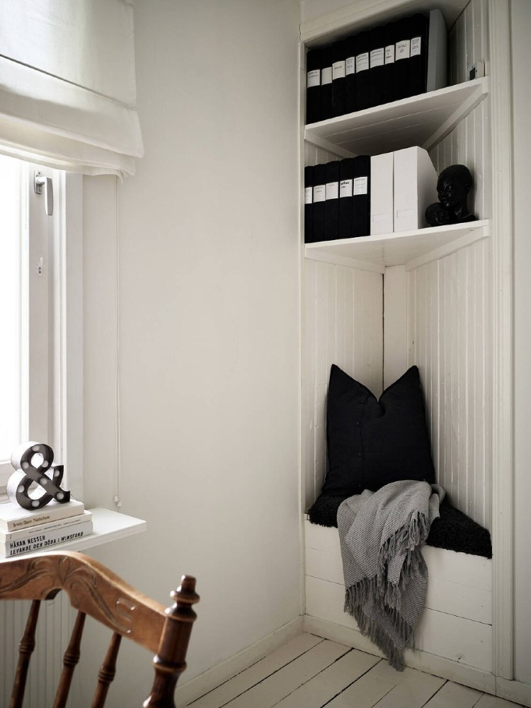 awkward corner space idea