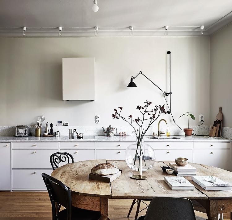 Scandinavian kitchen lighting