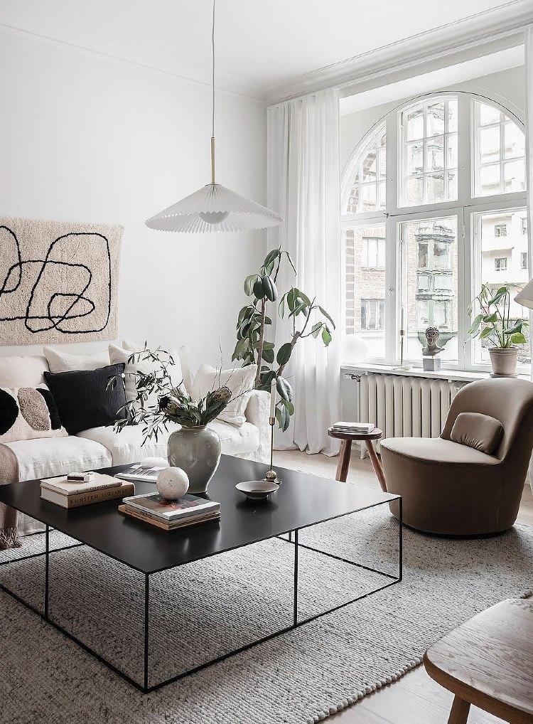minimalist modern indoor planters