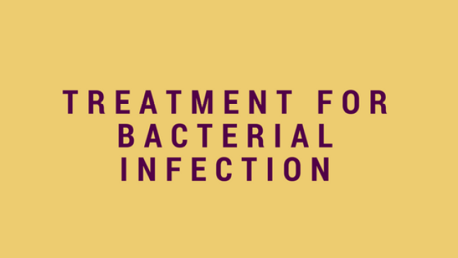 treatment for bacterial infection