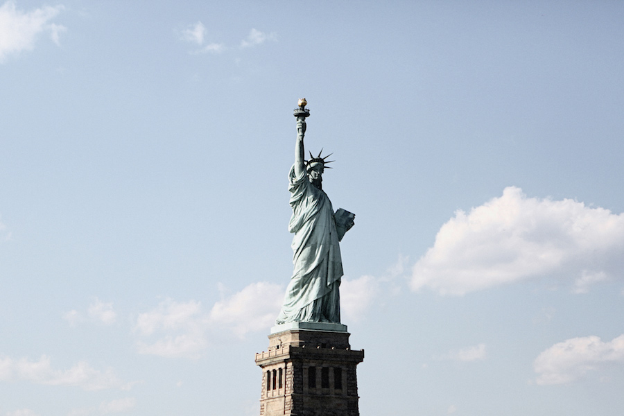 The Statue of Liberty and Women's Suffrage
