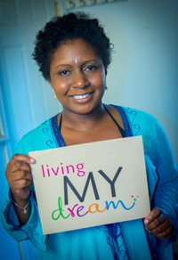 Meet Aziza Kibibi:  mother, survivor, and inspiration!