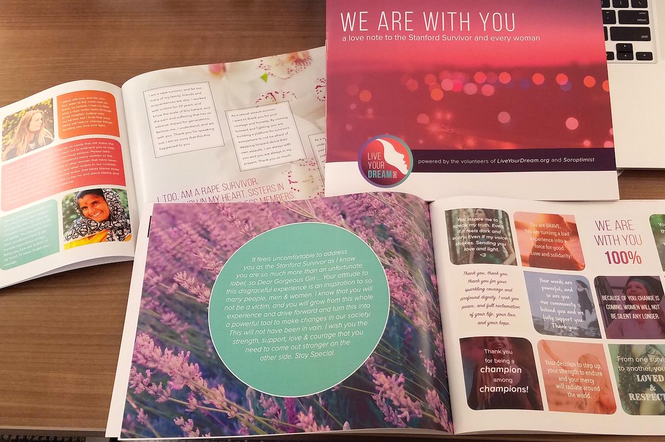 """""""Dear Survivor"""" Book Sends Love to the Stanford Survivor"""