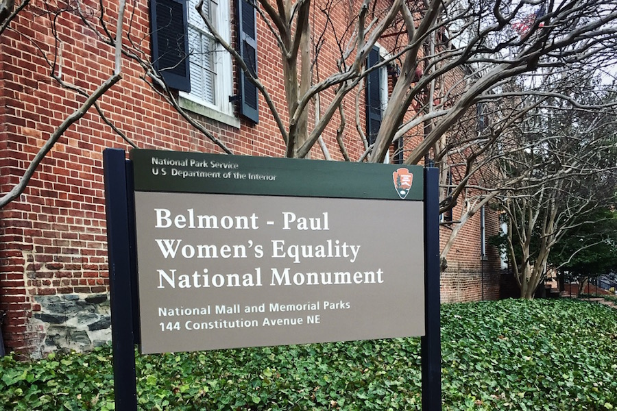 My Visit to the D.C. National Woman's Party Monument and Museum of Women in the Arts