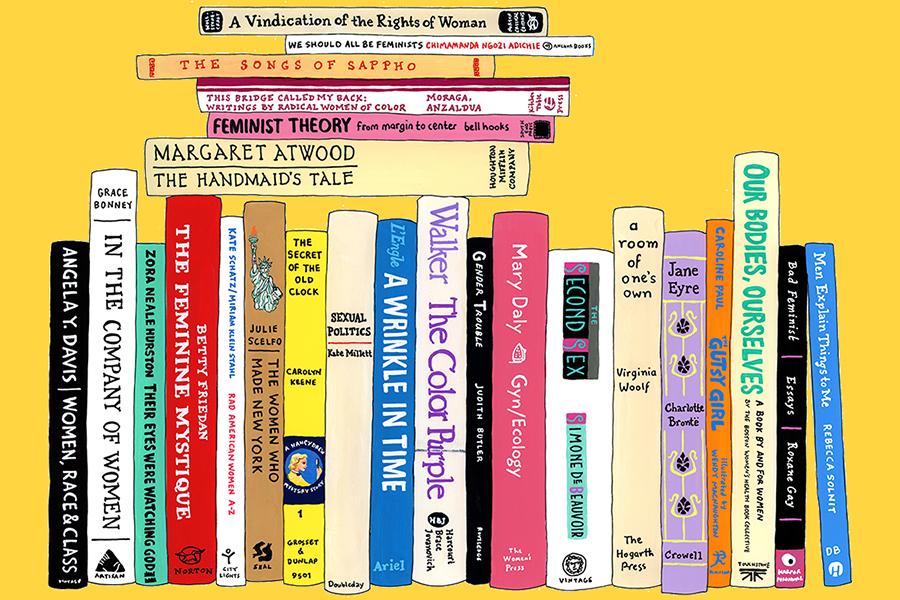 Feminist Self-Care: Inspiring Female Authors