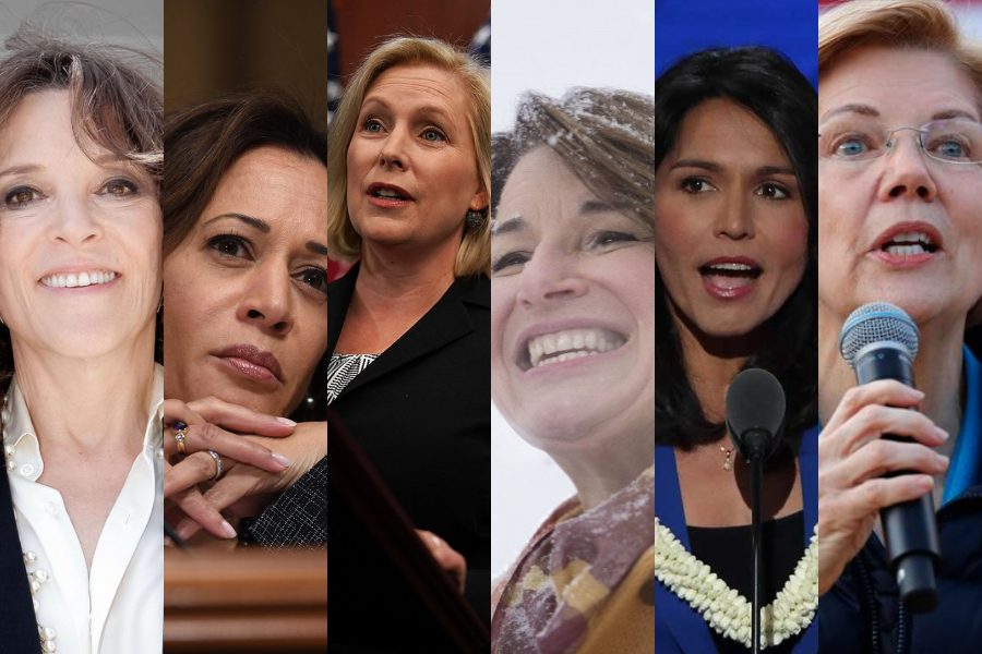 women running for president 2020
