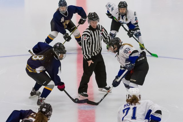 girls hockey - gender equality in sports