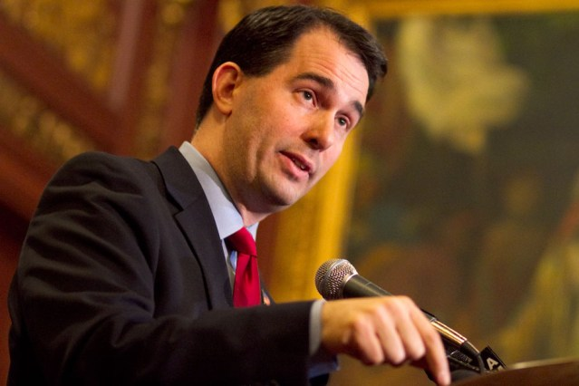 Scott Walker Begins Sobering Up to Qualify for Unemployment Assistance