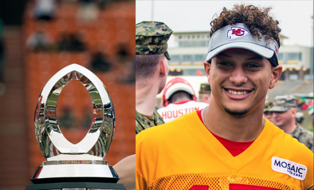 Chiefs QB Patrick Mahomes Gives His MVP Trophy to a Nearby Native American Tribe