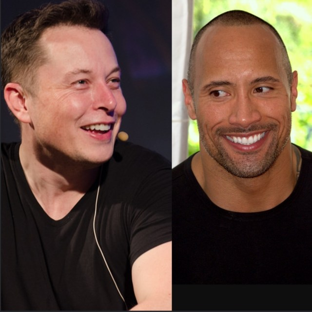 Elon Musk & The Rock Are Costarring in an Adult Film