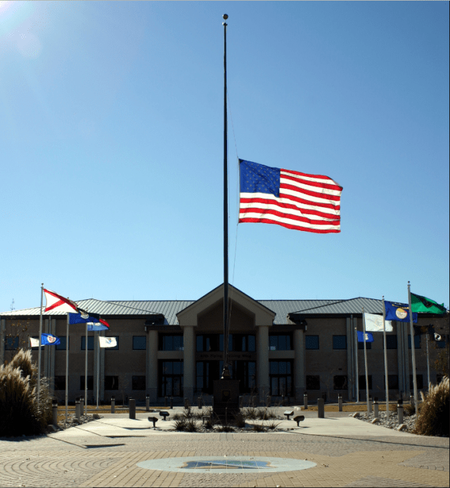 Most of U.S. Keeping Flags at Half-Staff to Save on Labor Costs