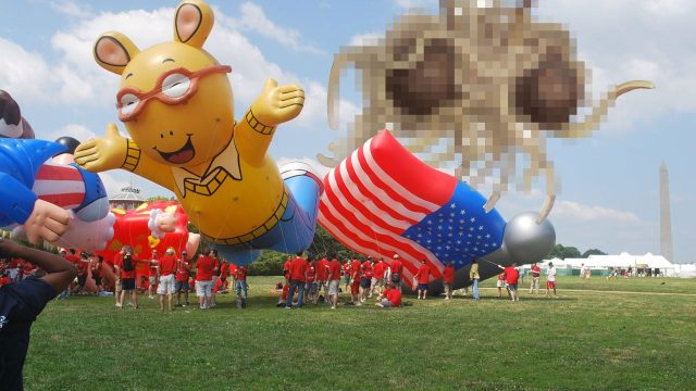 Expect a Giant Covfefe Balloon at Trump's 4th of July Parade