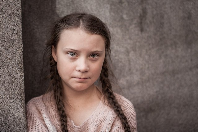 Conservatives identify Greta Thunberg as first known case of white privilege