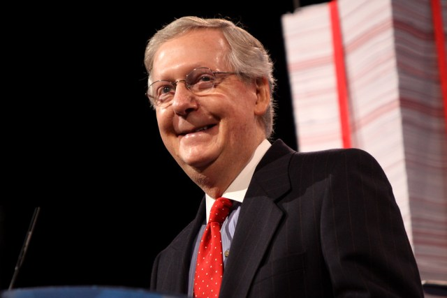 Herpetologists: Mitch McConnell's push for late night impeachment trial suggests he's a desert tortoise