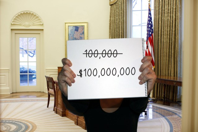 Staffers Add Money Sign Comma Three Zeroes to Death Toll to Get Trump to Take Virus Seriously