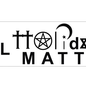 All Holidays Matter Symbols Sticker