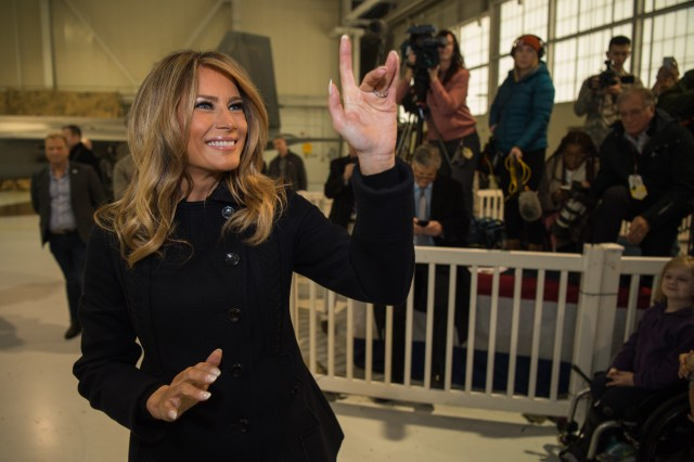 First Lady Announces Final Phase of 'Be Best' Program is Voting Donald Trump Out of Office