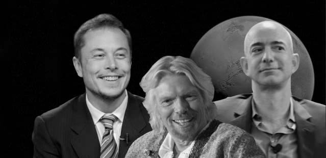 General Population Somehow Not Concerned Why Wealthy Are Desperately Trying To Make It To Outer Space
