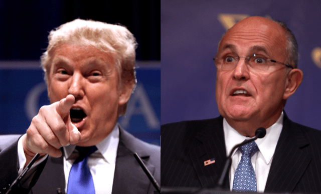 Trump: 'Wow! Whoever This Rudy Guy Is, He Sounds Really Screwed