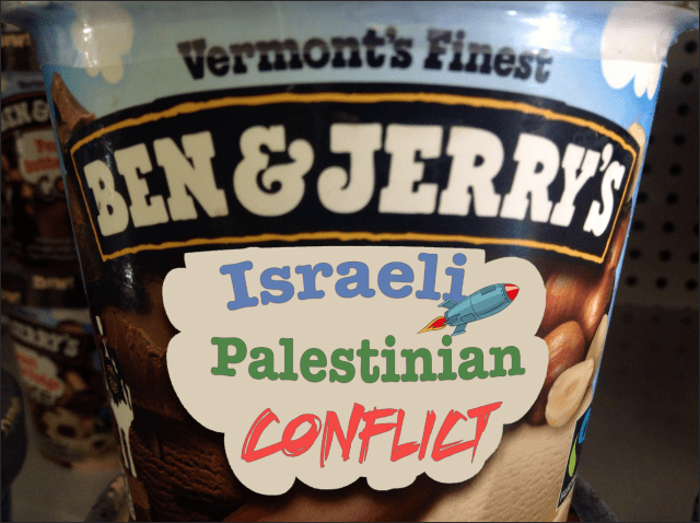 Israeli palestinian conflict ice cream