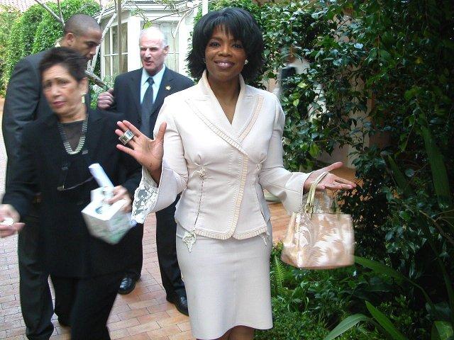 oprah winfrey party celebrating less white people