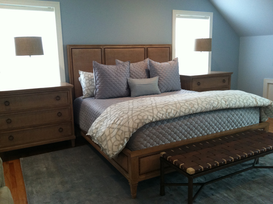 Tranquil Bedroom Youre Home Custom Interiors