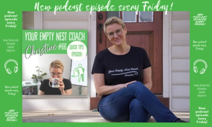66: Quick Tips, Your Empty Nest Coach College Scholarships and Visit Planning with Discomfort and Some Intimacy featuring Gretchen Hoffmann, Carolyn Caplan, 5 Kilo Traveller, Monica Matthews & Leah Carey