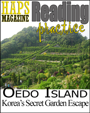 ESL Reading Lesson plan - Oedo Island