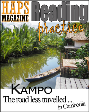 ESL Reading lesson plan - Kampo Travel Story