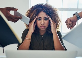 Entrepreneur Business Success Coping With Stress