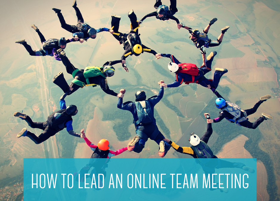 ideas for leading online team meetings