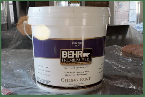 Behr Ceiling Paint Home Decor
