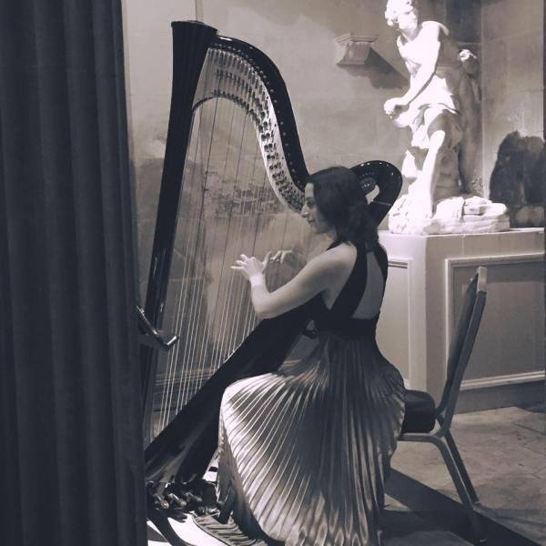 Harpist for hire London