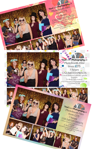 Photo booth hire chichester postcard