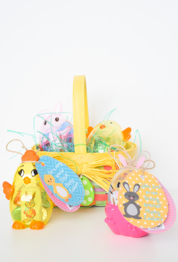 Bunny & Chick Easter Tags Free Printable for Young Women, Youth, Primary, Kids, School, Etc.