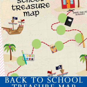 Back To School Treasure Map