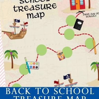 Back To School Treasure Map