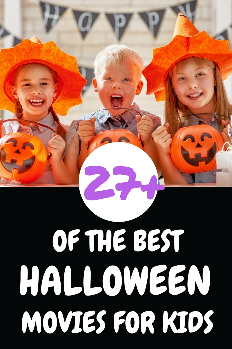 27+ of the Best Halloween Movies for Kids
