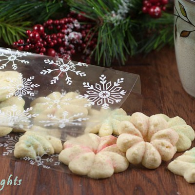 The Best Spritz Cookies
