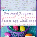 Personal Progress General Conference Egg Hunt