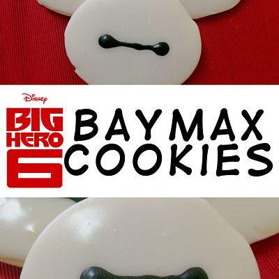 Big Hero 6 Baymax Cookies