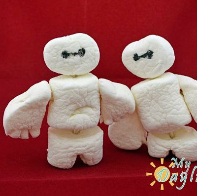 Big Hero 6 Baymax Marshmellows