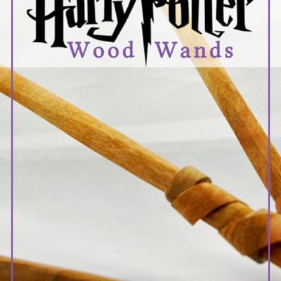 Harry Potter Wood Wands