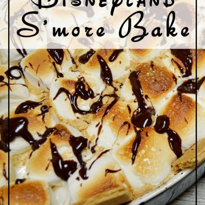 Disneyland Inspired S'mores Bake