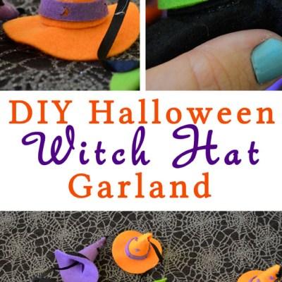 DIY Witch Hat Garland