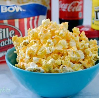 Orangilicious Popcorn