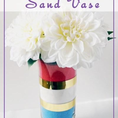 DIY Birthstone Sand Vase