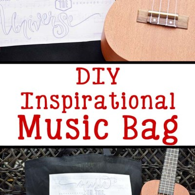 DIY Inspirational Music Bag