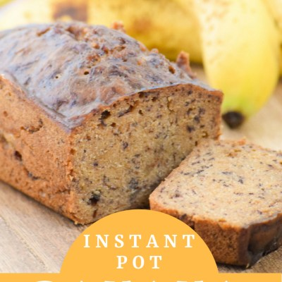 Amazing Instant Pot Banana Bread