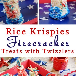 Rice Krispies Firecracker Treats